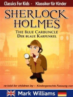 Sherlock Holmes re-told for children / KIndergerechte Fassung The Blue Carbuncle / Der blaue Karfunkel