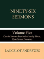 Ninety-Six Sermons; Volume Five