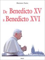 De Benedicto XV a Benedicto XVI