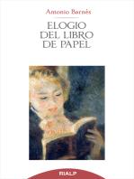 Elogio del libro de papel