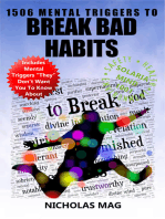 1506 Mental Triggers to Break Bad Habits