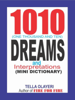 1010 (One Thousand and Ten) Dreams and Interpretations