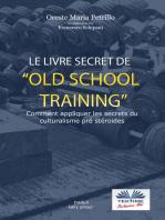 Le Livre Secret De L'Entraînement Old School
