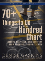 70+ Things to Do with a Hundred Chart: Playful Math Singles