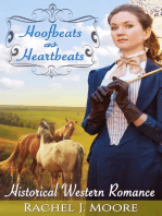 Hoofbeats as Heartbeats - Clean Historical Western Romance