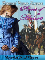 Pieces of a Heart - Clean Historical Western Romance
