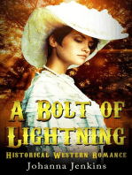 A Bolt of Lightning - Clean Historical Western Romance