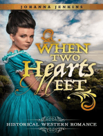 When Two Hearts Meet - Clean Historical Western Romance