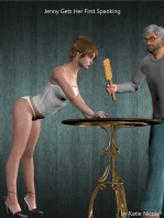 Jenny Gets Her First Spanking