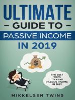The Ultimate Guide to Passive Income in 2019