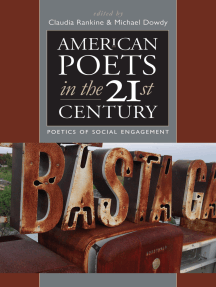 American Poets in the 21st Century: The Poetics ofSocial Engagement