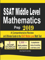 SSAT Middle Level Mathematics Prep 2019