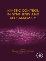 Kinetic Control in Synthesis and Self-Assembly