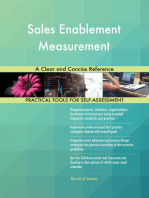 Sales Enablement Measurement A Clear and Concise Reference