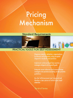 Pricing Mechanism Standard Requirements