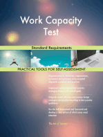 Work Capacity Test Standard Requirements