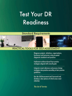 Test Your DR Readiness Standard Requirements