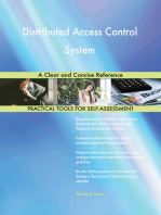 Distributed Access Control System A Clear and Concise Reference