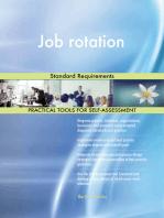 Job rotation Standard Requirements