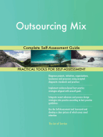 Outsourcing Mix Complete Self-Assessment Guide