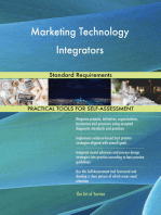 Marketing Technology Integrators Standard Requirements