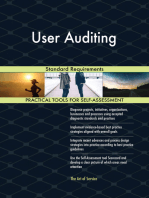 User Auditing Standard Requirements
