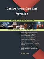 Content-Aware Data Loss Prevention Complete Self-Assessment Guide