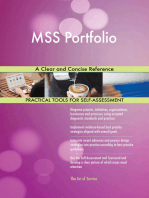 MSS Portfolio A Clear and Concise Reference