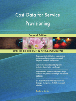 Cost Data for Service Provisioning Second Edition