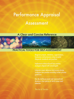 Performance Appraisal Assessment A Clear and Concise Reference