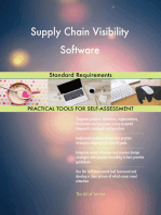 Supply Chain Visibility Software Standard Requirements