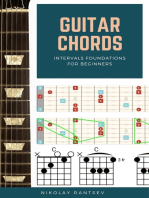 Guitar Chords: intervals foundations for beginners