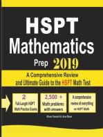 HSPT Mathematics Prep 2019