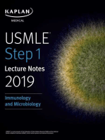 USMLE Step 1 Lecture Notes 2019: Immunology and Microbiology