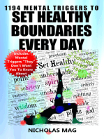 1194 Mental Triggers to Set Healthy Boundaries Every Day