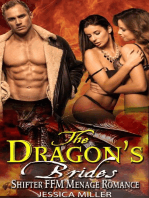The Dragon's Brides - Shifter FFM Menage Romance