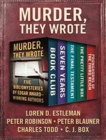 Murder, They Wrote: Five Bibliomysteries by Edgar Award–Winning Authors