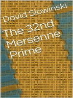 The 32nd Mersenne Prime