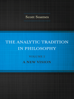 The Analytic Tradition in Philosophy, Volume 2