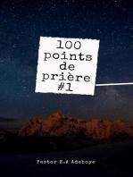 100 Points De Priere #1