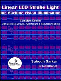 Linear LED Strobe Light for Machine Vision Illumination