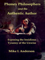 Phoney Philosophers and the Authentic Author