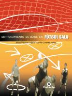 Entrenamiento de base en el fútbol sala