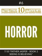 "Perfect 10 Horror Plots #6-7 ""FATHER JASPER - BOOK 2 SEEING IS BELIEVING"""