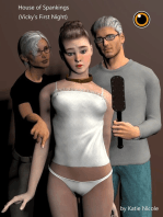 House of Spankings (Vicky's First Night)
