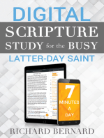 Digital Scripture Study for the Busy Latter-Day Saint