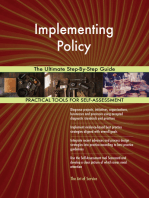 Implementing Policy The Ultimate Step-By-Step Guide