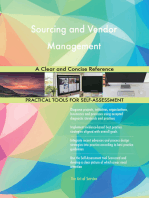Sourcing and Vendor Management A Clear and Concise Reference