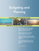 Budgeting and Planning Complete Self-Assessment Guide