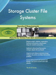 Storage Cluster File Systems Standard Requirements